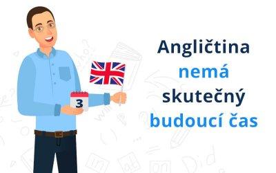Angličtina nemá skutečný budoucí čas